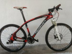 """Bike carbono wilier aro 26"""" pega 27,5"""""""