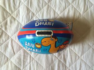 Bola miniatura futebol americano rugby abu dhabi