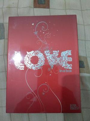 Box com 6 cd,s fechado músicas Românticas