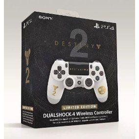 Controle dualshock 4 edição limitada destiny 2 ps4,