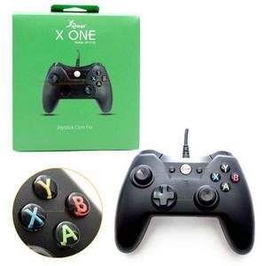 Controle joystick xbox one knup kp-5130 com fio