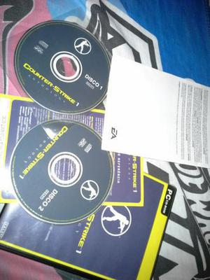 Counter Strike CS, CD original de instalação (Windows, Mac