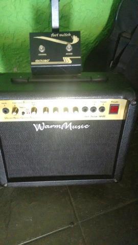 Cubo para guitarra e violão warm music