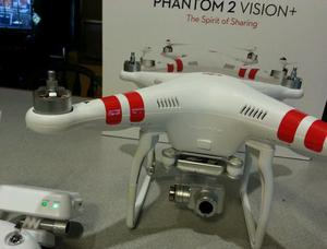 Drone dji phanton 2 vision plus