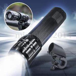 Farol lanterna para bicicleta com suporte para guidão