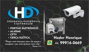 H.e seguranca eletronica e automacao