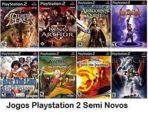 Jogos originais de play 2 para colecionadores,confira