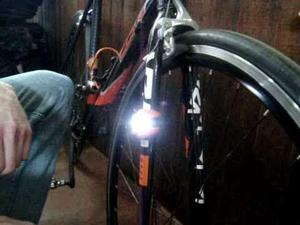 Kit c/ 2 leds sinalizadores para bicicletas