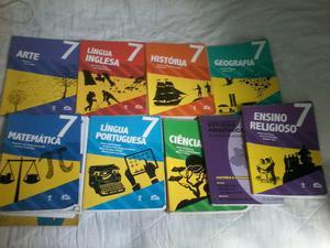 Livro adventista 7 ano completo$170