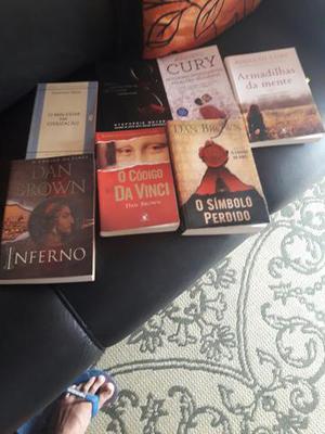 Livro dan brown e augusto cury