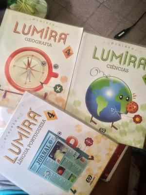Livros projeto lumirá - 4 ano