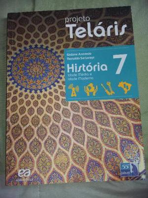 Livros projeto teláris 7° ano