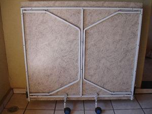 Mesa ping pong 15mm procópio dobrável com rodas mdf semi