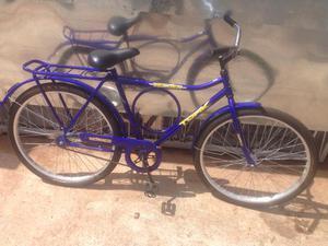 Oferta bicicleta barra circular azul por 400,00