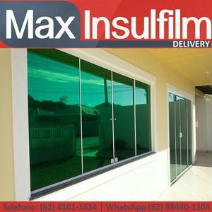Películas exclusivas, apenas na max insulfilm!
