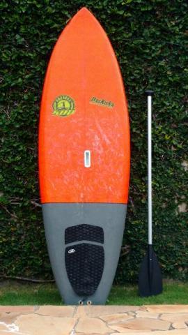 Prancha stand up 7' wave p/ surf - estudo troca por sup