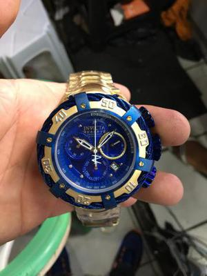 Relógio invicta thunderbolt gold(valor extra)