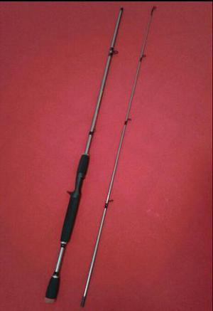 Vara de pesca: material em carbono 6-15lb tonear
