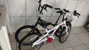 Vendo duas bicicletas caloi infantil