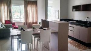 Apartamento 02 suítes - sacada c/ churrasqueira -