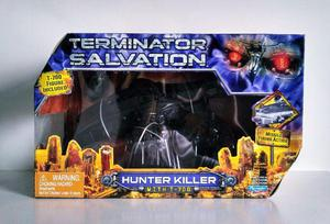 Action figure t700 exterminador do futuro + nave