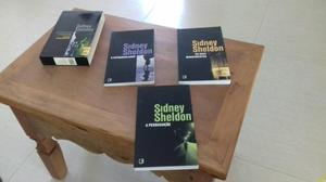 Box com os 3 livros do autor sidney