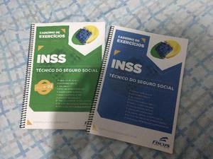 Cadernos de exercícios inss vol 1 + vol.2
