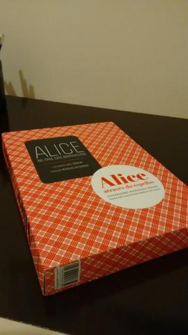 Caixa alice + alice - rara