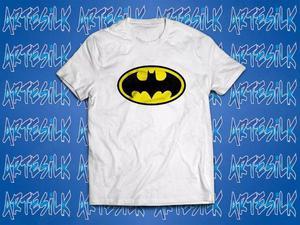 Camisa, camiseta personalizada 100% algodão batman