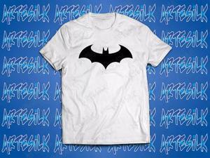 Camisa, camiseta personalizada 100% algodão batman asas
