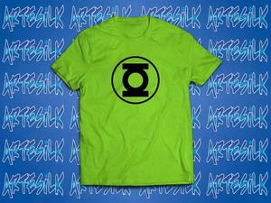 Camisa, camiseta personalizada 100% algodão lanterna verde