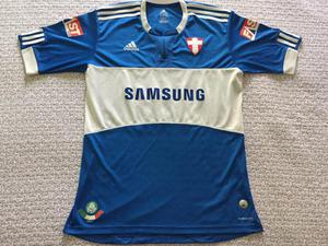 Camisa azul adidas se palmeiras away 2009 2010 - (número be554da3bb321