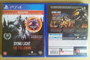 Dying light: the following - ps4 - novo / lacrado
