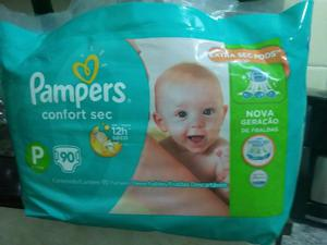 Fraldas pampers confort sec