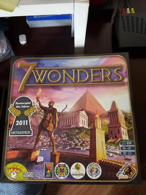Jogo 7 wonders + expansão líderes