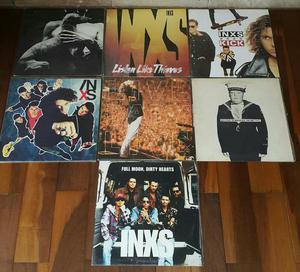 Lps inxs - coleção 7 lps