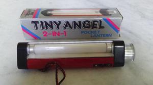 Lanterna de bolso portátil 2 em 1 tiny angel pocket lantern