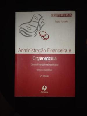 Livro administração financeira e orçamentária série