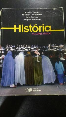 Livro de história - volume único
