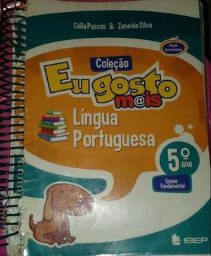 Livro de língua portuguesa 5° ano da coleção eu gosto