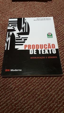 Livro de produção de texto