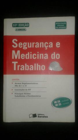 Livro segurança e medicina do trabalho nr 01 a 35 (leia o