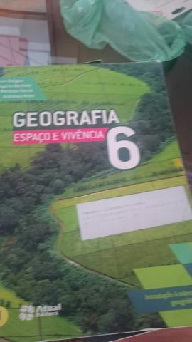 Livros história e geografia 6 ano