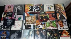 Lote com 28 cds de musica originais