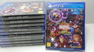 Marvel vs capcom: infinite - ps4 - novo / lacrado