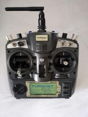 Radio turnigy tgy 9x e acessórios