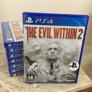 The evil within 2 - ps4 - novo / lacrado
