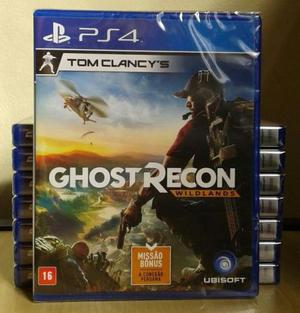 Tom clancy's ghost recon wildlands - edição limitada - ps4