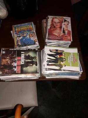 Vendo lote de vários titulos