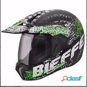 Viseira capacete bieffe paralelo